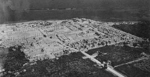 Vue d'aujourd'hui, sur les ruines de la ville de Sabratha