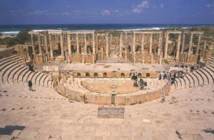 Thtre de Leptis Magna