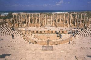 Théâtre de Leptis Magna
