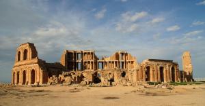 Le magnifique théâtre de Sabratha