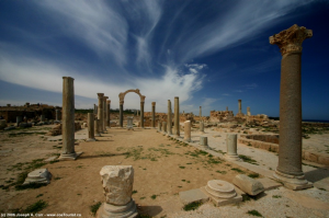 Temple de Srapis, Sabratha