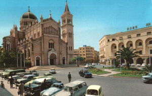 Cathdrale Romaine dans le centre de Tripoli 