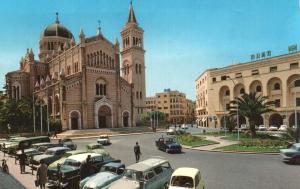 Cathédrale Romaine dans le centre de Tripoli