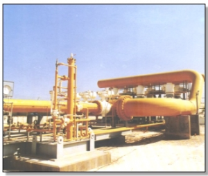 Station de compression de gaz de Misrata